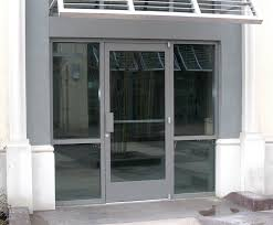 commercial glass doors great front with