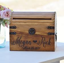 shabby chic wedding card box rustic wedding card box with slot wood card box with lock option wedding keepsake chest custom keepsake