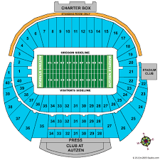 Precise Usc Football Seating Chart Ducks Seating Chart View