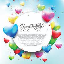 birthday balloons border clip art. Interesting Birthday Colored Happy Birthday Balloons Vector Inside Birthday Balloons Border Clip Art A