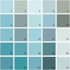 spa paint colorsBenjamin Moore Paint Colors  Blue Palette 05  House Paint Colors