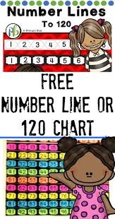 Math Expressions 120 Chart Number Line To 120 Free Math Expressions Numbers