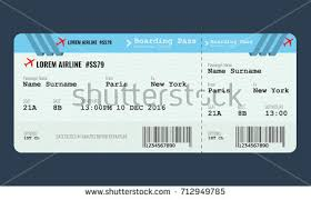 free ticket design template vector airplane ticket design template mock stock vector hd royalty