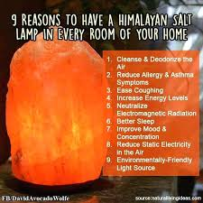 Real Salt Lamp Custom Real Salt Lamp 32 Reasons To Have A Salt Lamp In Every Room In Your