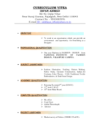 Different Resume Formats Haadyaooverbayresort Com