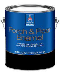 This product works great and looks great! Porch Floor Enamel Sherwin Williams