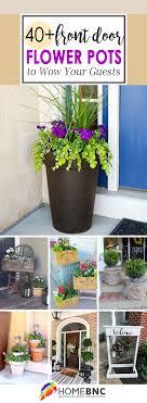 40 best front door flower pots ideas