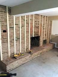 brick wall with fireplace best fireplace makeovers regarding brick complex remodel ideal 4 whole wall brick