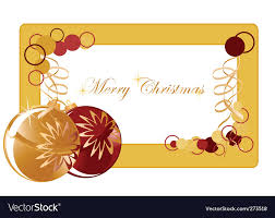 Blank Christmas Background Christmas Background Blank Royalty Free Vector Image