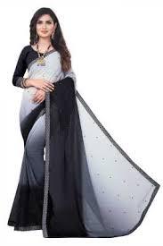 <b>Black</b> Sarees (काली साड़ी) - Buy <b>Black</b> Saree Online at ...