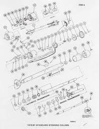 1967 chevelle steering column diagram with images large size