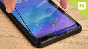 Olixar <b>Samsung Galaxy</b> S10 5G Glass <b>Screen Protector</b> Installation ...