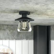 semi flush mount chandelier