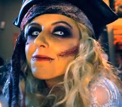 undead pirate tutorial makeup