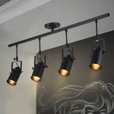 track lighting spotlights. Image Is Loading Loft-Oil-Black-Track-Lighting-Spotlight-Ceiling-Fixture- Track Lighting Spotlights I