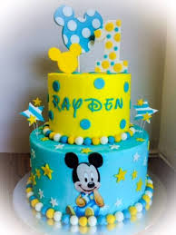 First Birthday Baby Mickey Cakecentralcom