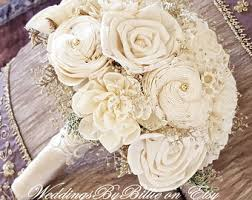 wedding bouquets etsy no