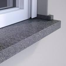 Wigasil Granit Fensterbank Anthra Grau Naturstein Fensterbänke