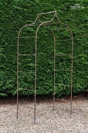 gothic style wrought iron garden arch