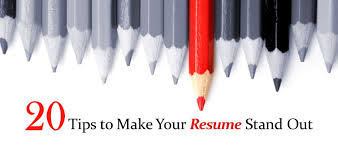20 Tips To Make Your Resume Stand Out Lawdepot Blog