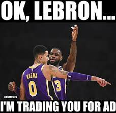 Imagine kids growing up and instead of yelling kobe when they shoot, or even like curry or lebron, theyre just like kuzma‼️. Nba Memes On Twitter Kyle Kuzma After Outscoring Lebron James 39 18 Lakers Lakeshow