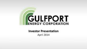 Gulfport Energy Expects Transformational Year Focused On Utica