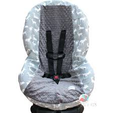 leopard toddler car seat best covers images on cover grey deer silhouette by print