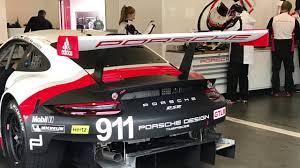 2017 Porsche 911 RSR Mid-Engine On Track Sound, Roar Before the 24 ...