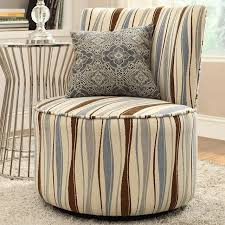awesome round swivel accent chair striped swivel armchairs and accent chairs houzz