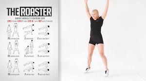 the roaster bodyweight workout you