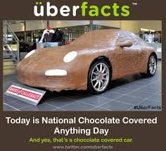 national chocolate covered anything day.  Chocolate UberFacts On Twitter  On National Chocolate Covered Anything Day C