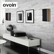 Us 1716 57 Offvintage Rustikalen Grau Weiße Ziegel Tapete Rollen Schlafzimmer Esszimmer Wohnzimmer Wand Abdeckt Moderne 3d Wand Papier