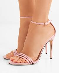 gucci patent leather sandals shoes post