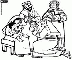 Small Picture Three Kings or Three Wise Men coloring pages printable games