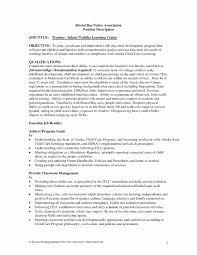 Child Care Provider Resume Sample For Study Photo Examples