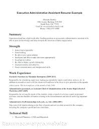 Resume Objectives For Administrative Assistants Examples Resume Fascinating Objective Resume Administrative Assistant
