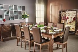 dark wood dining room furniture. L : Classic Dark Wood Dining Table Grey Carpet In White Geometric Pattern Shabby Chic Chair Stripes Black And Modern Room Furniture
