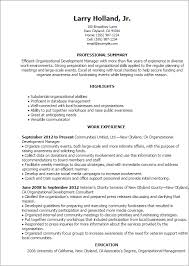 Organizational Ability 1 Organizational Development Resume Templates Try Them Now