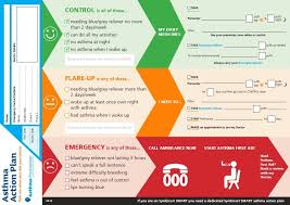 Asthma Action Plan Custom Asthma Action Plan Template Tomburmoorddinerco