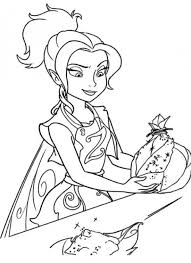 Disney Easter Coloring Pages Tinkerbell Pictures To Color Disney