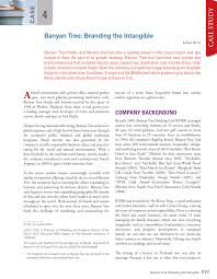 Banyan Tree Designing And Delivering A Branded Service Experience Pdf The Banyan Tree Branding The Intangible