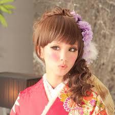 花かんむり合う髪型見つけて素敵に花嫁浴衣成人式にも I See