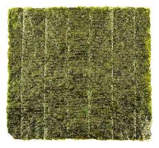nori sheet nori edible seaweed sheet stock photo colourbox