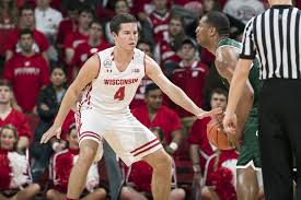 Matt Ferris Mens Basketball Wisconsin Badgers