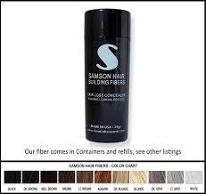 Toppik Color Chart Amazon Com Blonde Color Samson Best Hair Loss Concealer