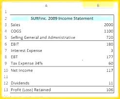Simple P L Excel Template Pro Income Statement Template Fresh 5 Year Excel Software