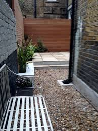 low maintenance garden design ideas patio privacy screens uk