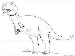 Come Si Disegna Un Tirannosauro T Rex Tutorial Per Disegnare