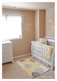 yellow rugs for nursery roselawnlutheran baby milau0027s nursery yellow u0026 gray posh little designs