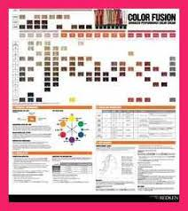 Redken Color Fusion Chart 2017 Redken Color Fusion Chart Best Picture Of Chart Anyimage Org